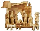 Nativity Set 11 Figures 47H +Nativity Stable Hand Made Olive Wood Holy Land