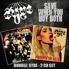 Bundle: SYRE 'It Ain't Pretty Being Easy' + 'Pissed To The Gills '- Hair Metal
