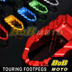 Fit Ducati Multistrada 620 1000/DS 1100/S Touring CNC Rear Foot pegs