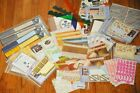 CREATIVE MEMORIES HUGE MIXED LOT 40+ pcs NEW Stickers Die Cuts Paper Ideas MORE