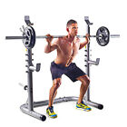 Olympic Workout Squat Rack Bench Press Barbell Lifting Home Exercise Equipment