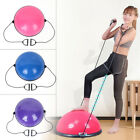24 Yoga Half Ball Balance Trainer Exercise Fitness Strength Gym Workout w Pump