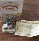 DAVID WINTER COTTAGES CAMEO SADDLE STEPS 1991 WITH COA AND BOX IN MINT CONDITION