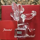 Baccarat France Crystal Glass Baby Angel In Prayer Nativity Scene