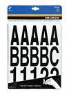Self Adhesive Die Cut Vinyl Numbers and Letters Stickers Black 2 in Sign Mailbox
