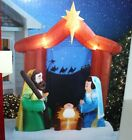 CHRISTMAS INFLATABLE AIRBLOWN 65 FT NATIVITY SCENE