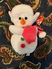 Ty Beanie Babies Ms. Snow. Brand New With Tag!