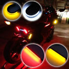 Switchback Turn Signal DRL Brake Strip Lights  W/A + R/A LED Kit for Motorcycles