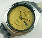 VINTAGE SEIKO5 17J AUTOMATIC MENS  JAPAN WORKING ORIGINAL DIAL WRIST WATCH C0528