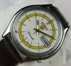 VINTAGE SEIKO5 6309A 17J AUTOMATIC MENS  JAPAN   WRIST WATCH C0571