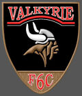 HONDA VALKYRIE F6C EMBROIDERED PATCH ~4-1/2