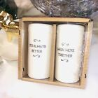 Salt  Pepper Shakers Its Always Better When Were Together by HOSTESS A310