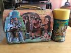 RARE 1967 ITS ABOUT TIME DOME LUNCHBOX WITH THERMOS VINTAGE METAL LUNCH BOX MINT
