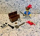 Vintage Lego Pirate , Chest and Accesories 1990's