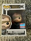 Funko Pop Game Of Thrones Beric Dondarrion Figure #65 2018 Fall Convention Excl.