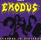 Exodus - Lessons In Violence: The Best Of Exodus (CD Used Very Good)