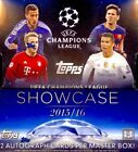 2015 16 Topps UEFA Champions League Showcase Soccer 8 Hobby Box Sealed Case 2016