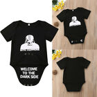 Star wars Newborn Toddler Baby Girl Boy Romper Jumpsuit Bodysuit Outfit Clothes