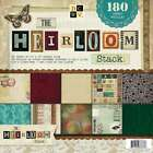 DCWV Paper Stack 12X12 180 Sheets Heirloom 60 Designs 3 Each 611356888336