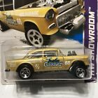 HOT WHEELS 2013 HW SHOWROOM 55 CHEVY BEL AIR GASSER GOLD FACTORY SEALED