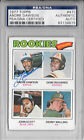 PSA DNA ANDRE DAWSON Signed 1977 TOPPS Expos CUBS MLB ROOKIE Baseball CARD #473