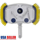 NEW Pool Vacuum Head Cleaner 2 Side Brushes Swimming Pool Above Ground Sweeper