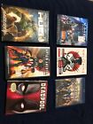 Deadpool The Wolverine X men Apocalypse Days Of Future Past Blu ray DVD