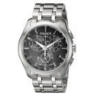 Tissot T-Trend Couturier Chronograph T0356171105100 Black Dial Steel Mens Watch