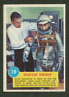 1963 TOPPS ASTRONAUT PICTURES #20 SPACESUIT CHECK POPSICLE BACK EXC+ NO CREASES