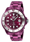 Invicta Men's 27535 Pro Diver Automatic 3 Hand Burgundy Dial Watch