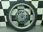 01-04 2003 bmw f650gs f650 gs f 650 Front wheel Rim Hub Disk Rotor HAS A DING