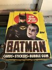 1989 Topps Batman The Movie Series 2 Trading Card Box (35 Packs)