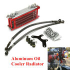 Red Oil Cooler Radiator Fit for 50 70 90 110CC Dirt Pit Bike Racing Motorcycle