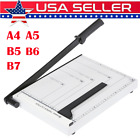 Paper Cutter A4 Paper Trimmer Photo Guillotine Craft Machine with Heavy Duty New