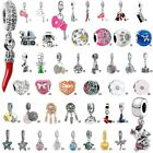 European Silver Charms Beads Pendant FOR DIY 925 sterling Bracelet Chain