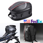 PU Leather Motorcycle Backpack Motorsports Track Riding Back Pack Waterproof