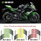 For Kawasaki Z650 #style 3 motorcycle wheel sticker Cool wheel stickers#LC