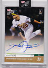 Mike Fiers Athletics Autograph 1st No Hitter of 2019 Topps Now Auto 29 99 A's