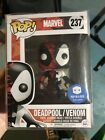Funko Pop! Marvel DEADPOOL VENOM POP IN A BOX Exclusive #237 In Soft Protector