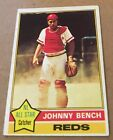Johnny Bench Card and Memorabilia Guide 44