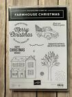 Stampin Up Retired Farmhouse Christmas Stamp Set WITH Dies USED