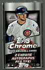 2015 TOPPS CHROME BASEBALL FACTORY SEALED HOBBY BOX - LOADED