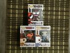 Funko POP LOT Marvel CARNAGE FYE Movies Michael Myers Freddy Krueger RARE NEW