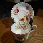 Royal Albert Flower of the Month Series APRIL Sweet Pea Tea Cup