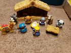 Fisher Price Little People Christmas Story Nativity Scene Manger Set Musical