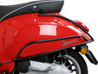 Rear Protection Bars for Vespa Primavera and Sprint BLACK