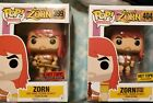 FUNKO POP! THE SON OF ZORN 399 and 404 HOT TOPIC EXCLUSIVE