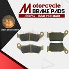 Front + Rear Brake Pads for KTM EXC125 94-03 SX125 94-03 SM125 Supermoto 00