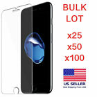 100x 50x 25x Bulk Lot of Tempered Glass Screen Protectors for iPhone X XR XS Max