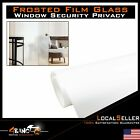 Window Film Frosted Glass UV Prevention Bathroom Apartment Safe Security Opaque